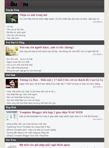 Free Template Blogspot Tin Tức Đẹp Responsive