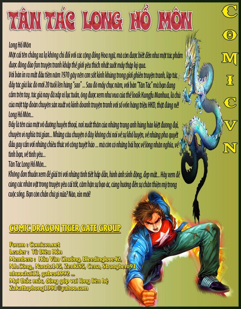 Tân Tác Long Hổ Môn chap 165 - Trang 36