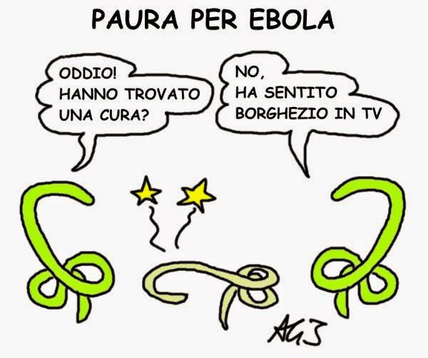 Ebola, Borghezio