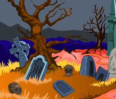 5nGames Haunted Cemetery …