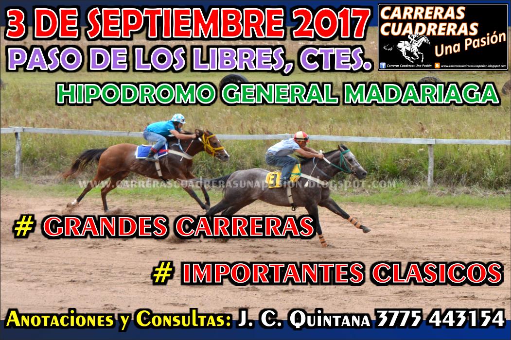P. DE LOS LIBRES - 03.09.2017