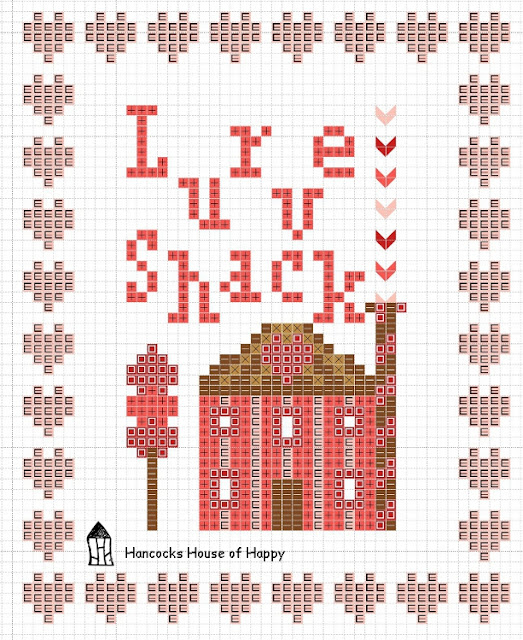 free valentine cross stitch pattern