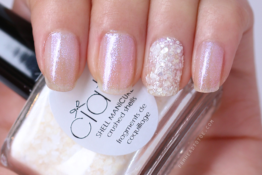 Manicure Monday Ciate Shell Manicure Wish Upon A Starfish From