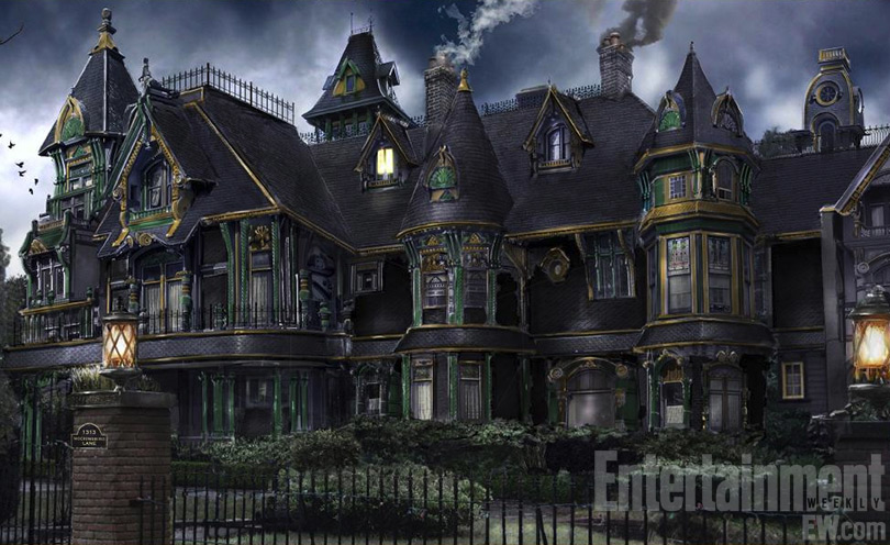 exclusive 39 munsters reboot mockingbird lane will be 39 delicate balance 39 says concept artist. Black Bedroom Furniture Sets. Home Design Ideas