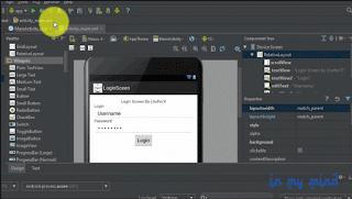 OpO - Membuat Login Screen Dengan Menerapkan User Interface