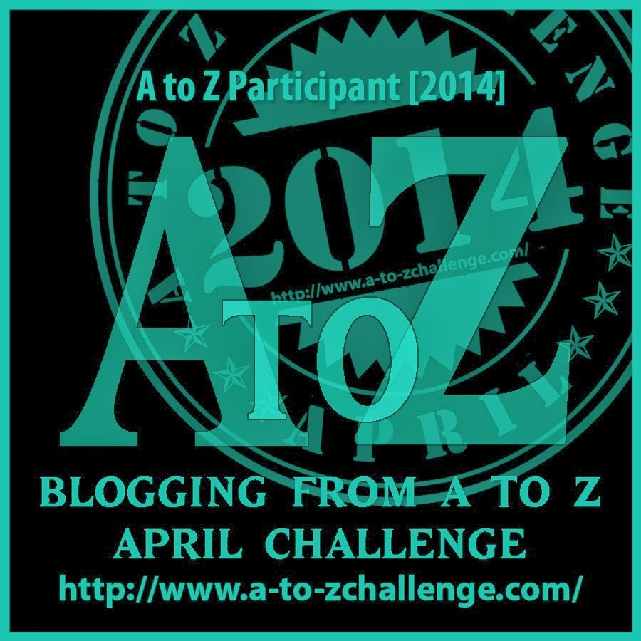 2014 Blogging from A to Z