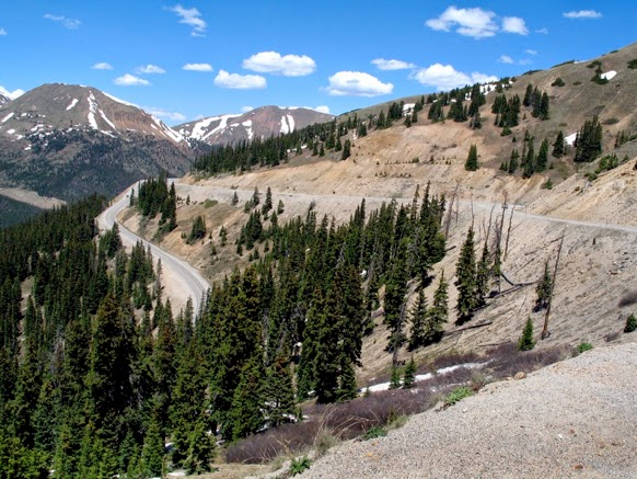 South side of Loveland Pass. Photo by Karen Rakestraw