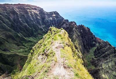 Trilha Awaawapuhi  - Kauai - Havaí