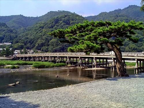 渡月橋(とげつきょう)