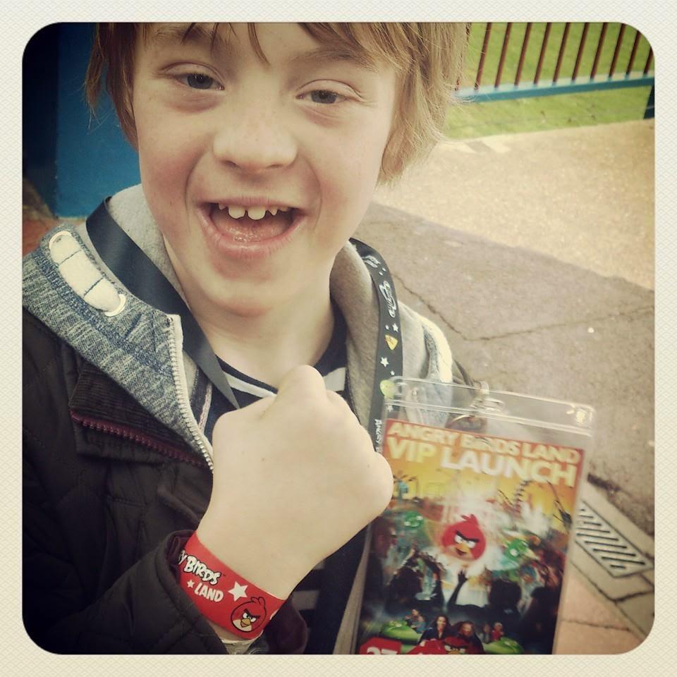 My Life My Son My Way, Kyd, Angry Birds Land, Thorpe Park, Theme Park,