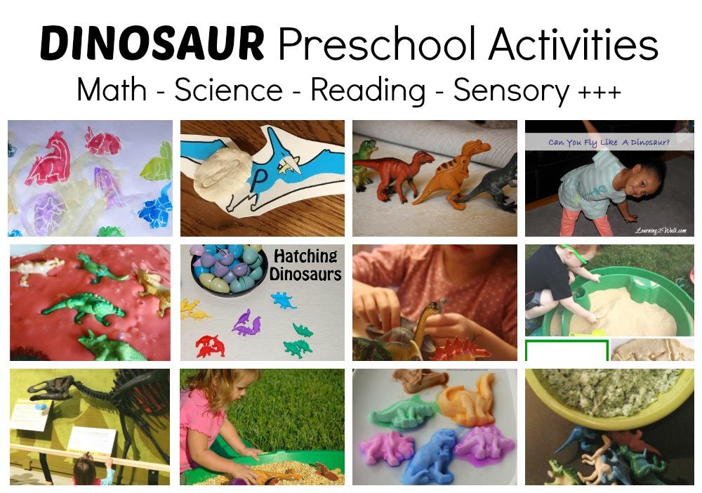 dinosaur theme preschool activities the educators spin on it dinosaur activities for 114