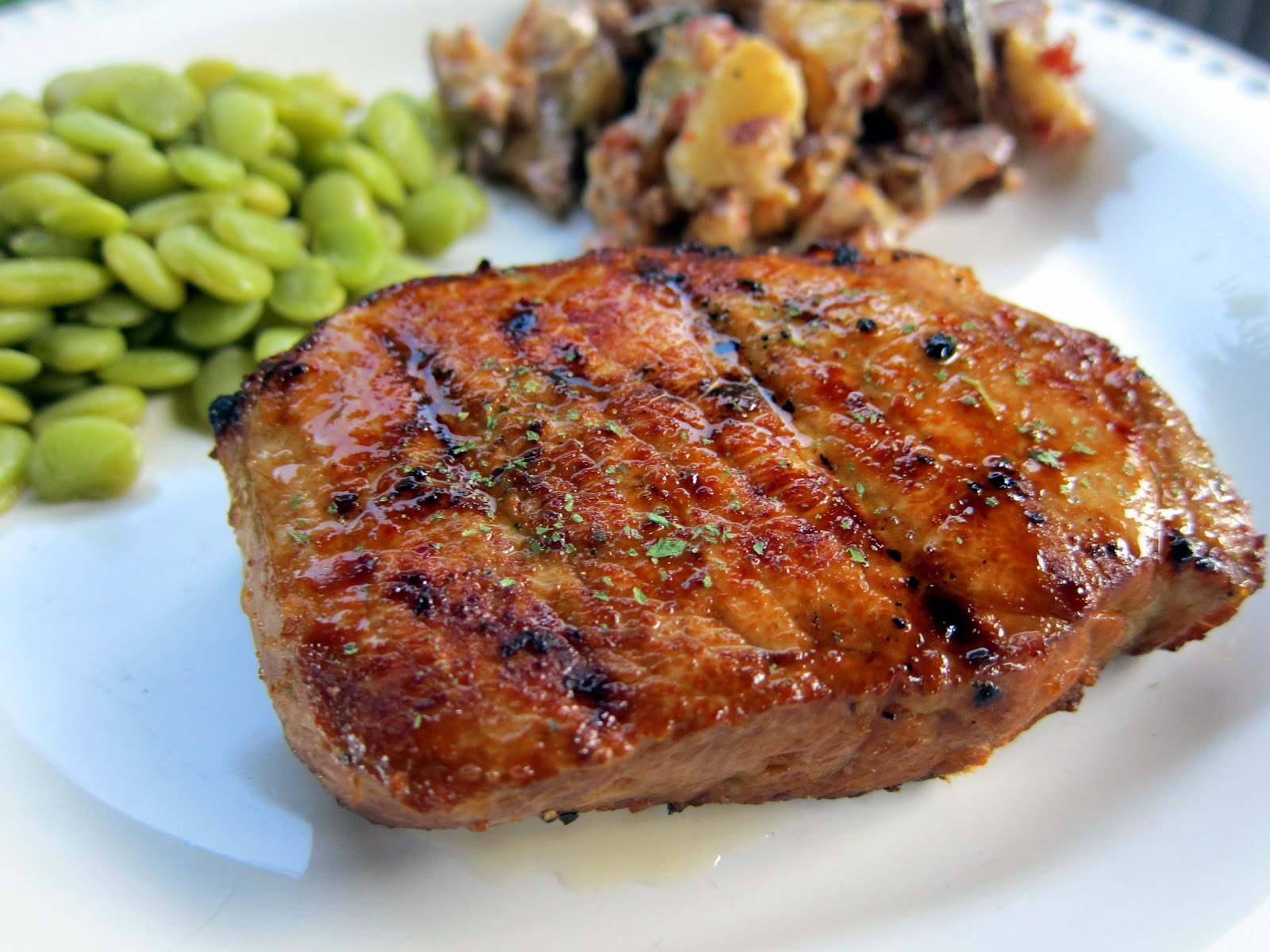 Lemon Pepper Pork Chops | Plain Chicken