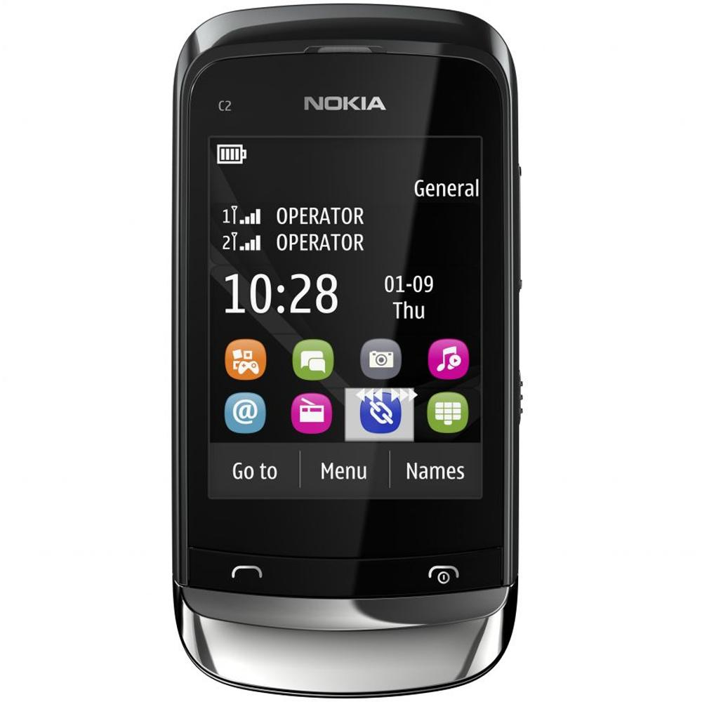 Features and specifications of samsung e1207t - The Best Mobiles The Best Price Nokia C2 06 Graphite