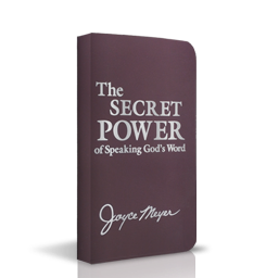The Secret Power of Speaking God's Word cover