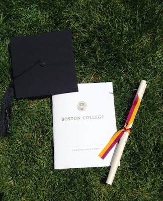 Boston College Commencement 2015