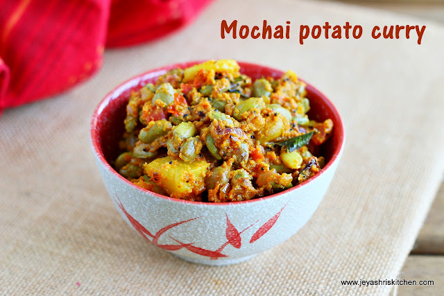 mochai potato curry