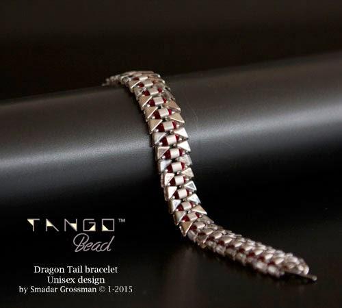 smadars treasure free tango 2hole triangle bead pattern