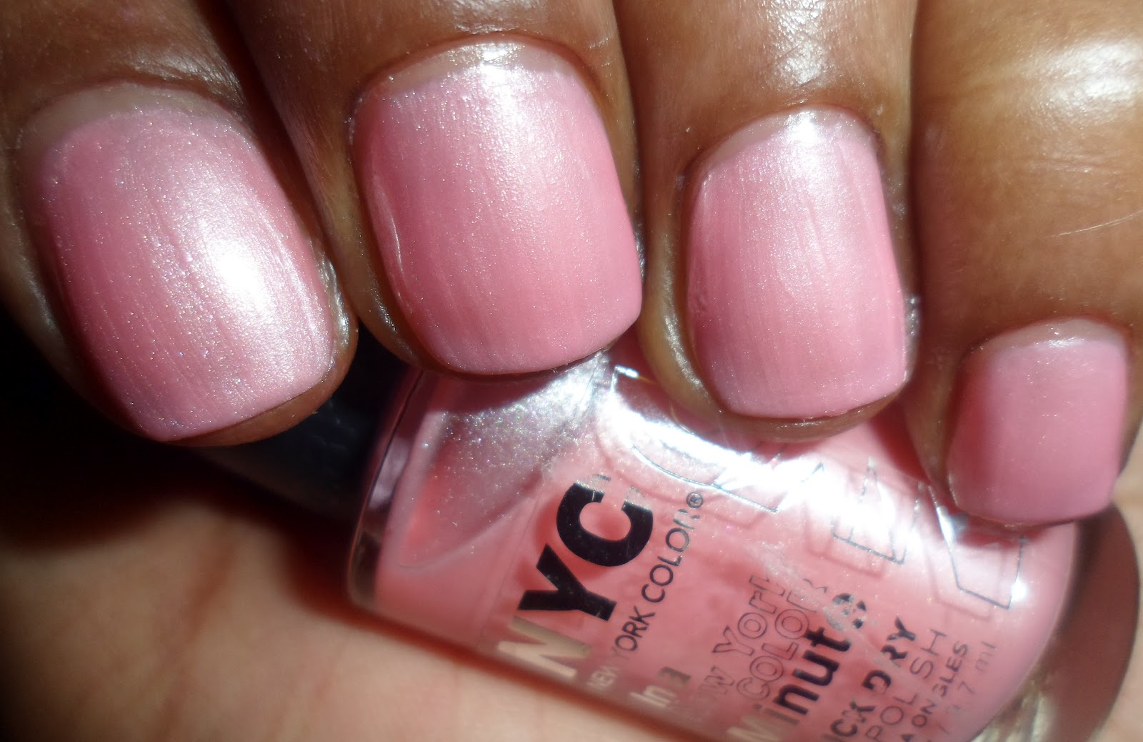 In-The-Red Nails: Pesonal Challenge-New York Color Swatches