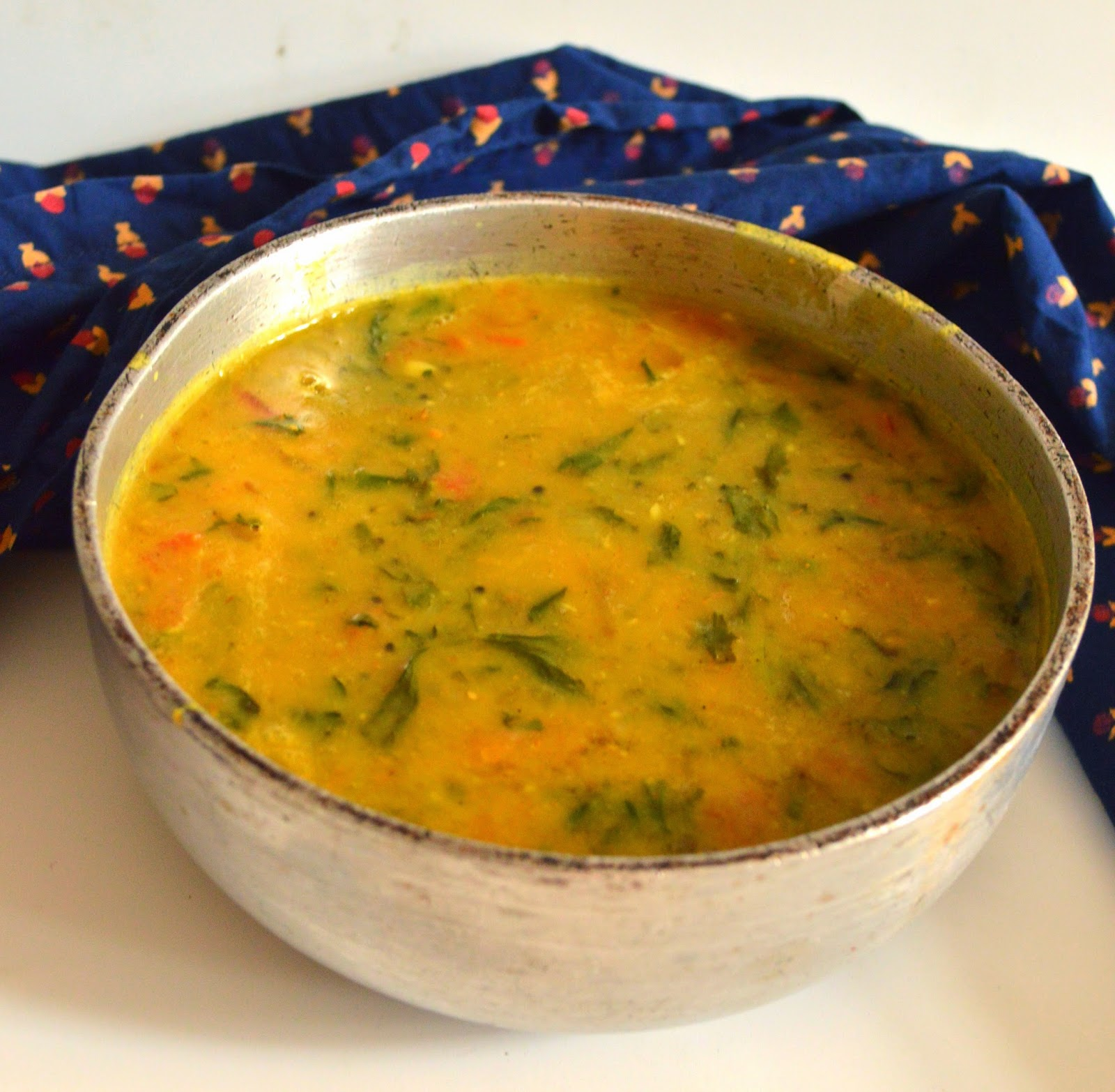 My Cooking Adventures: Methi Dal | Lentil soup with ...