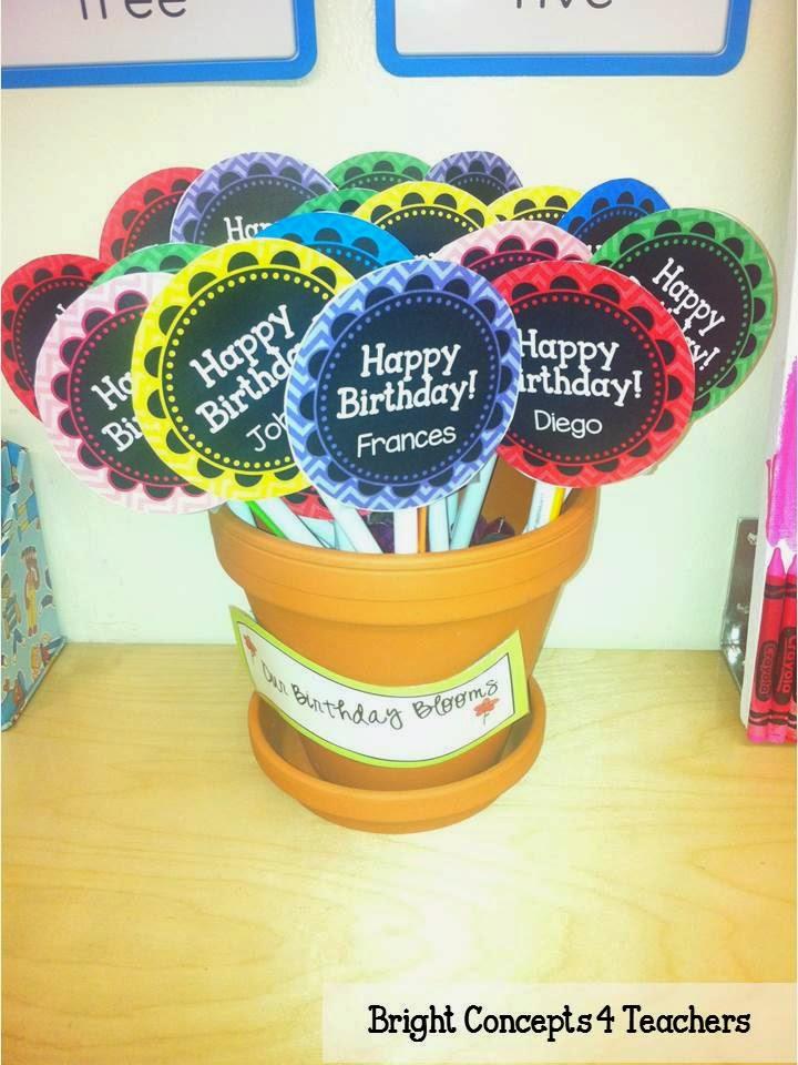 Classroom Birthday Ideas ~ Weekend warriors back to school cool birthday board