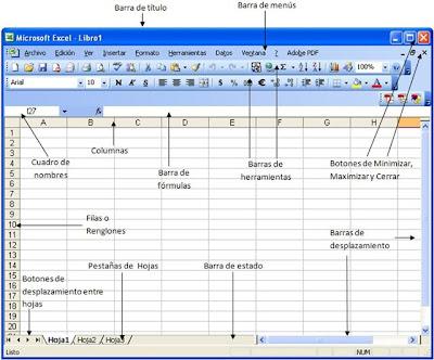 Excel: Ventana de Aplicacion