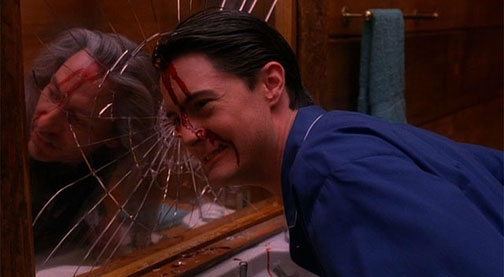 Agent Cooper in the Twin Peaks finale
