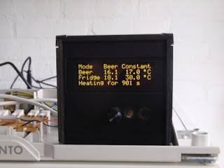 controlador de fermentação com Raspberry Pi