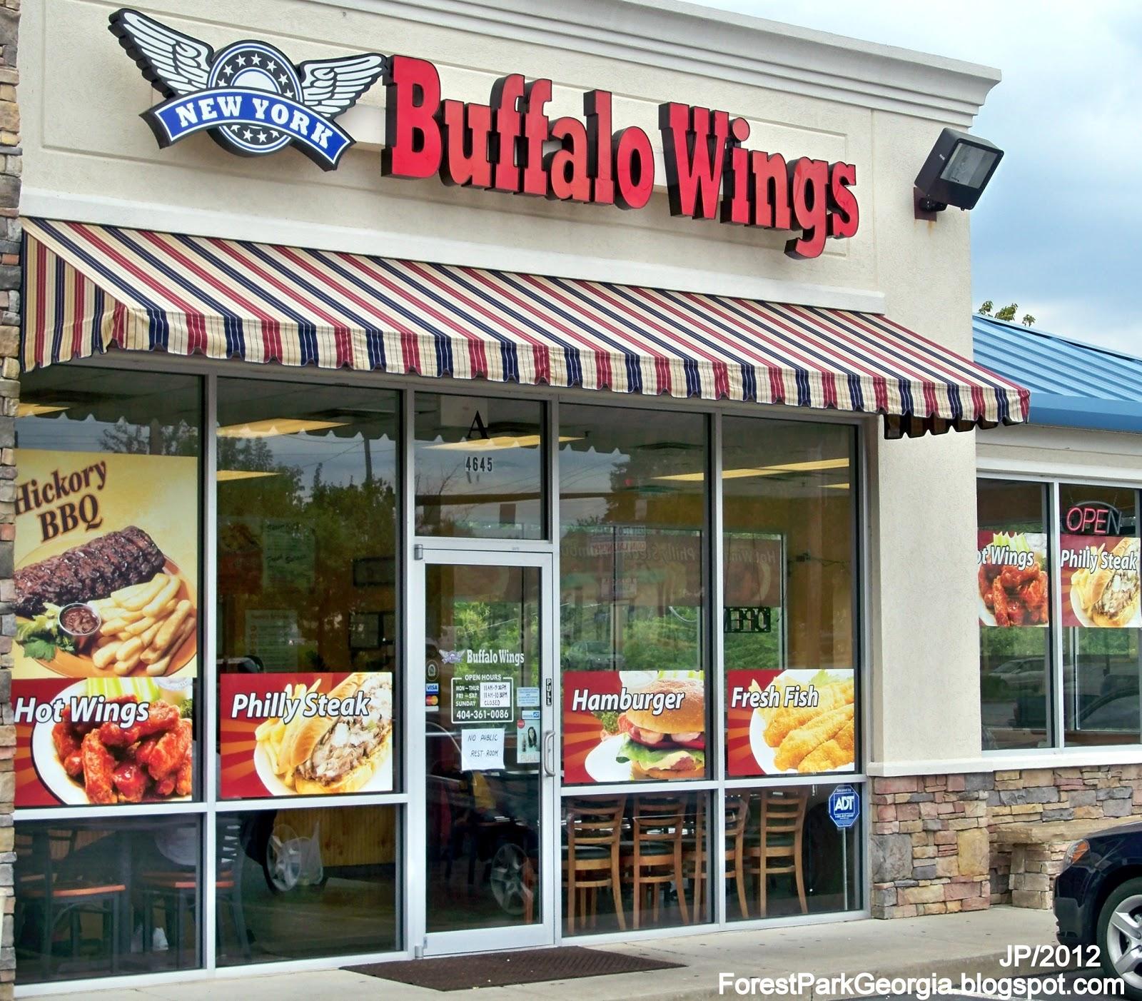 New york buffalo wings forest park georgia jonesboro road