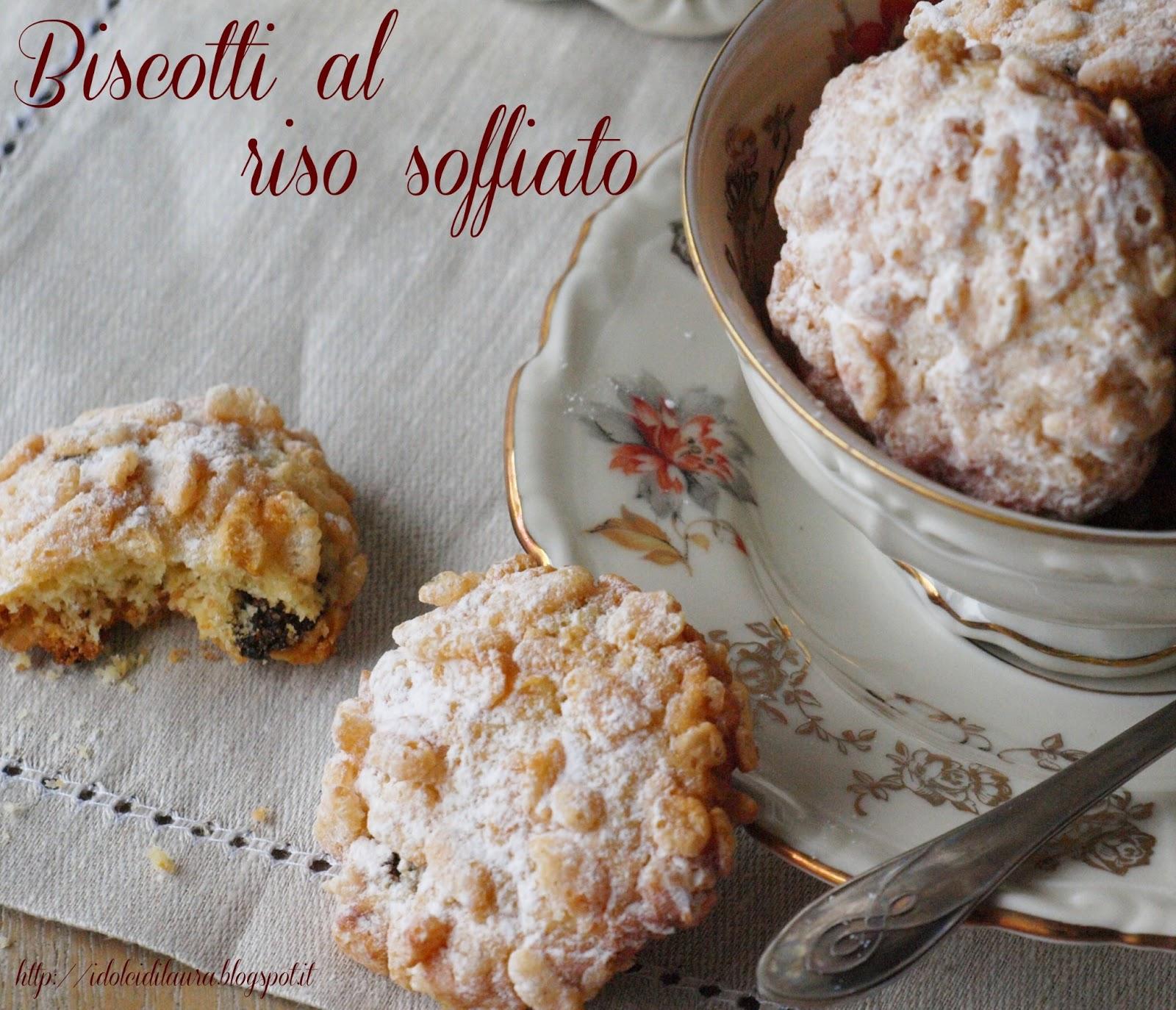 Estremamente i dolci di laura: Biscotti al riso soffiato XM04