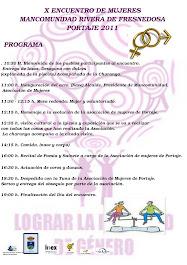 X ENCUENTRO DE MUJERES MANCOMUNIDAD RIVERA DE FRESNEDOSA