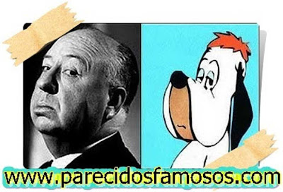 Hitchcock con Droopy