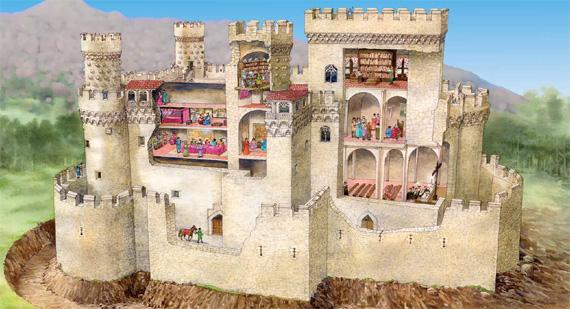 Pequegarena preparamos la visita al castillo manzanares - Casa en manzanares el real ...