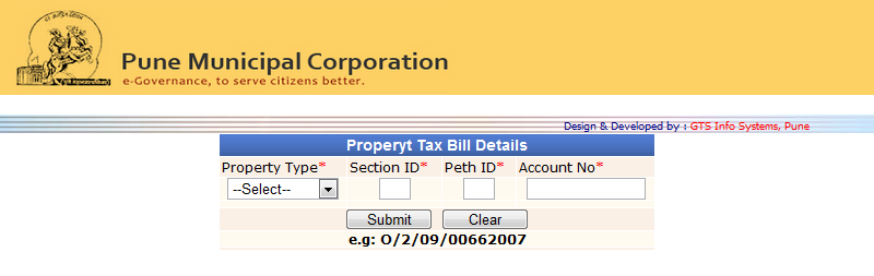 Pay Pmc Property Tax Online