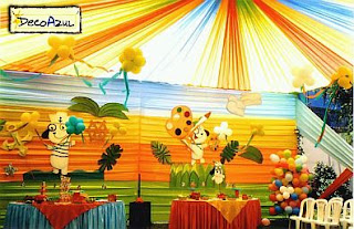 Doki decor for children parties