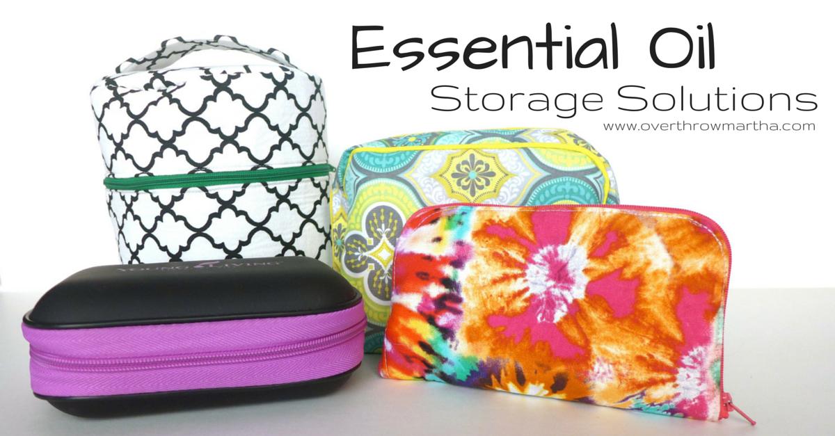 Essential oil storage solutions #yleo #essentialoils