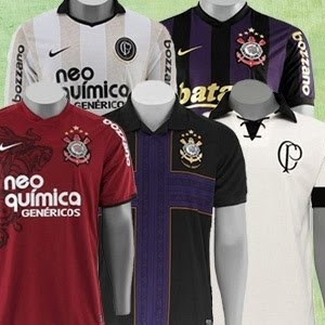 Camisas Corinthians
