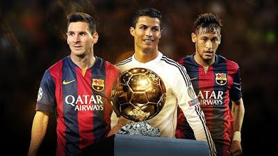 3 finalis ballon d'or