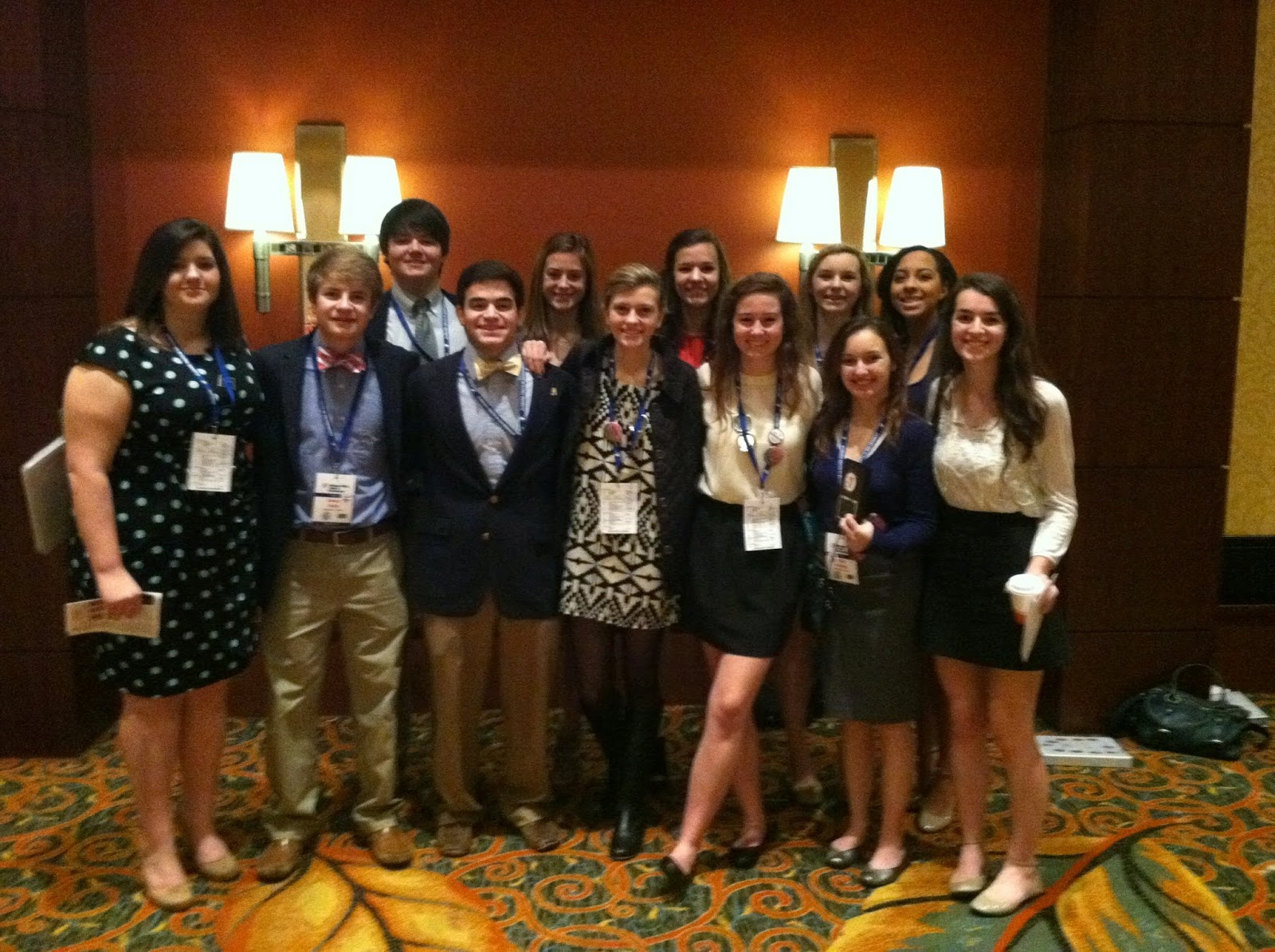 Montgomery Catholic Students Elected to Leadership Positions for 2015 YMCA Youth Legislature Conference 2