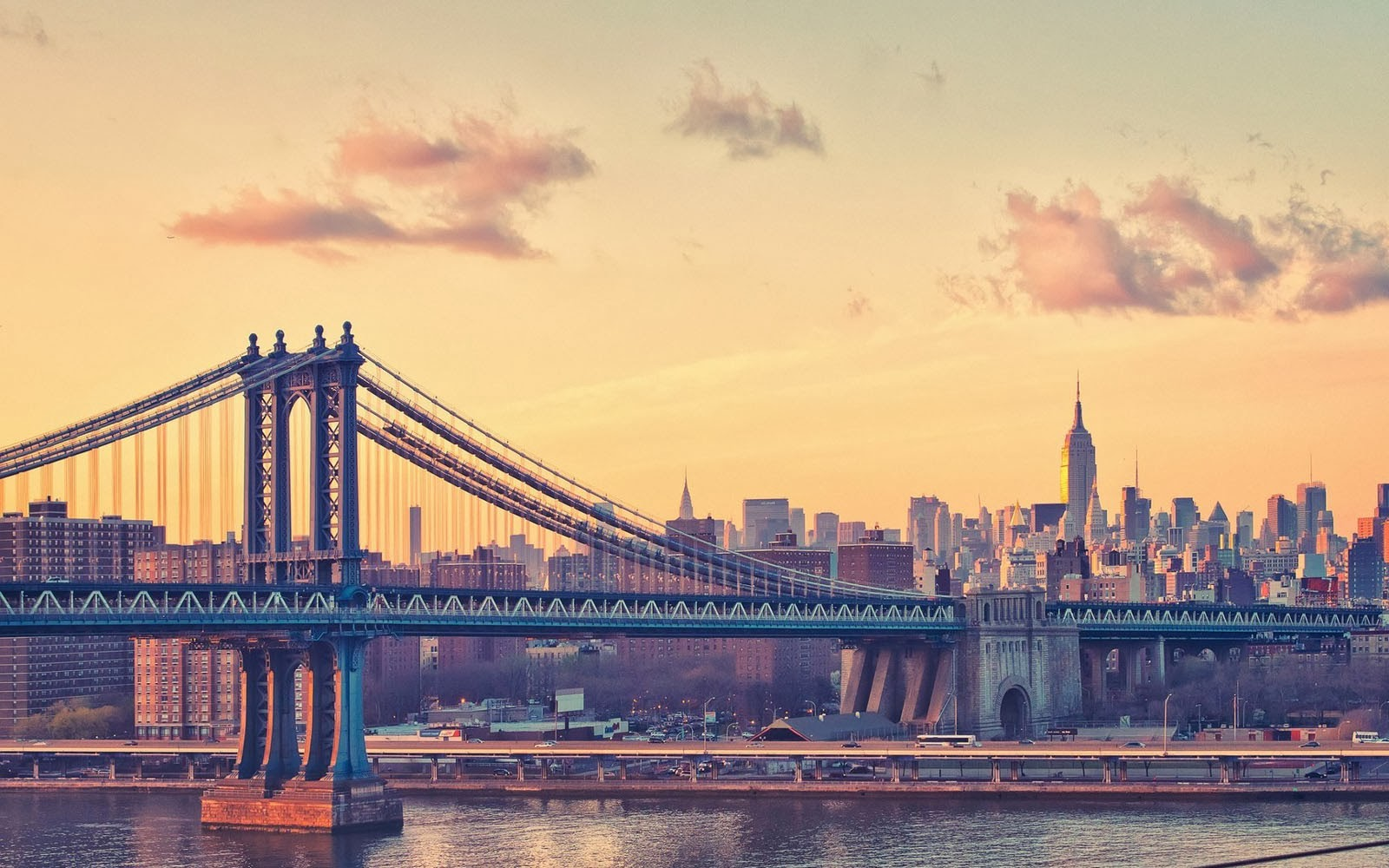 Wallpapers manhattan bridge for In the city wallpaper
