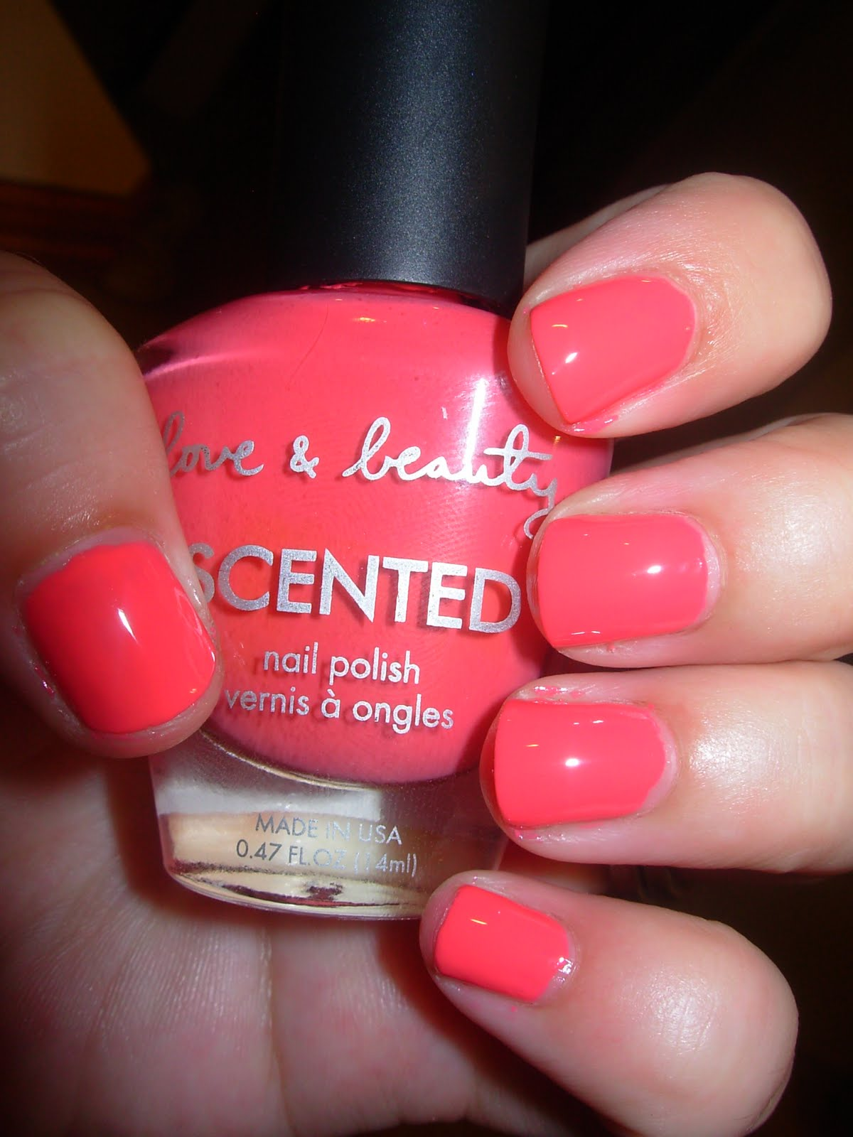 PortugueseDoll: Swatch Forever 21 love & Beauty nail polish \