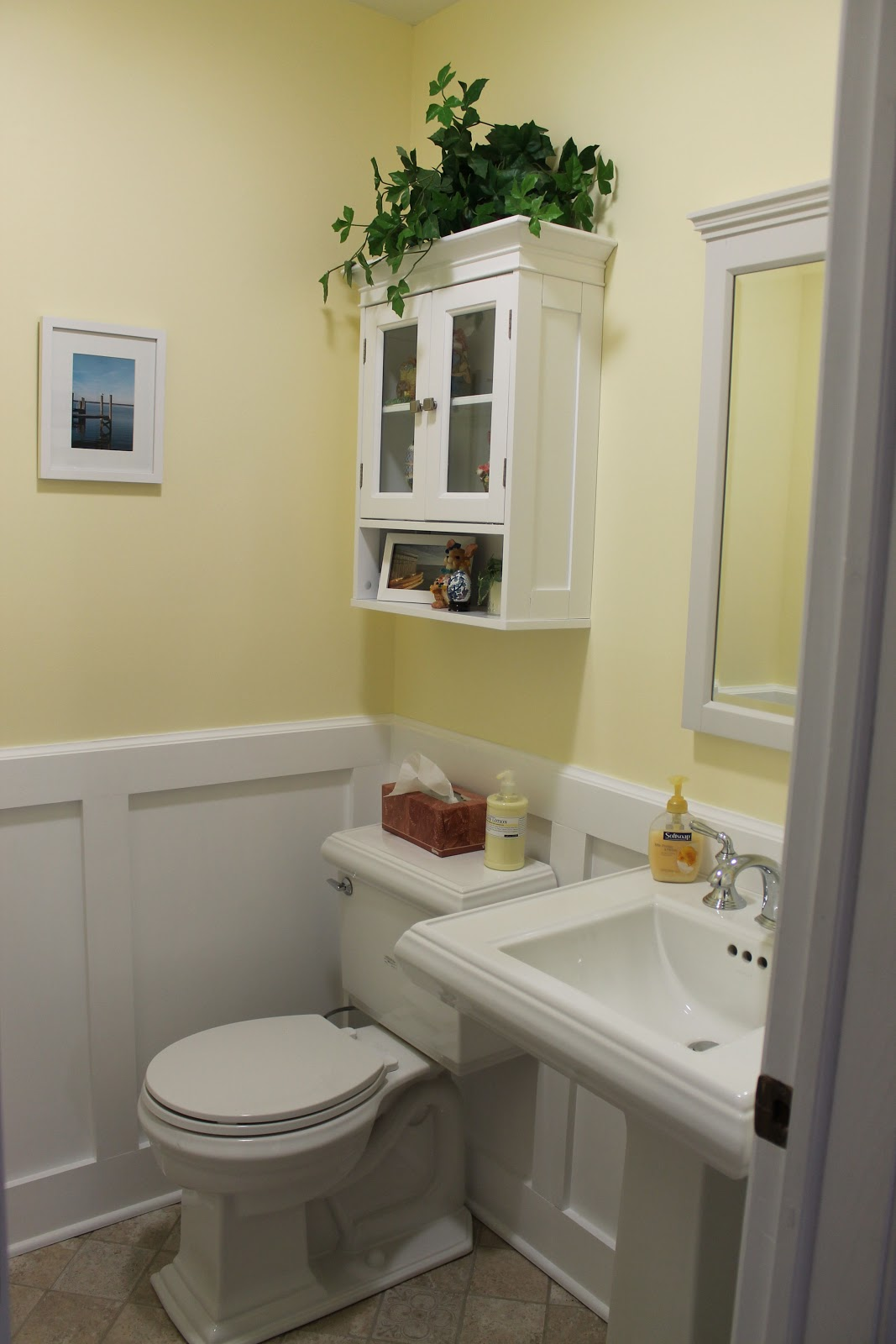 My Powder Room Remodel Part 2 Just One Donna