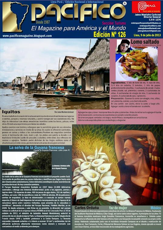 Revista Pacífico Nº 126 Turismo
