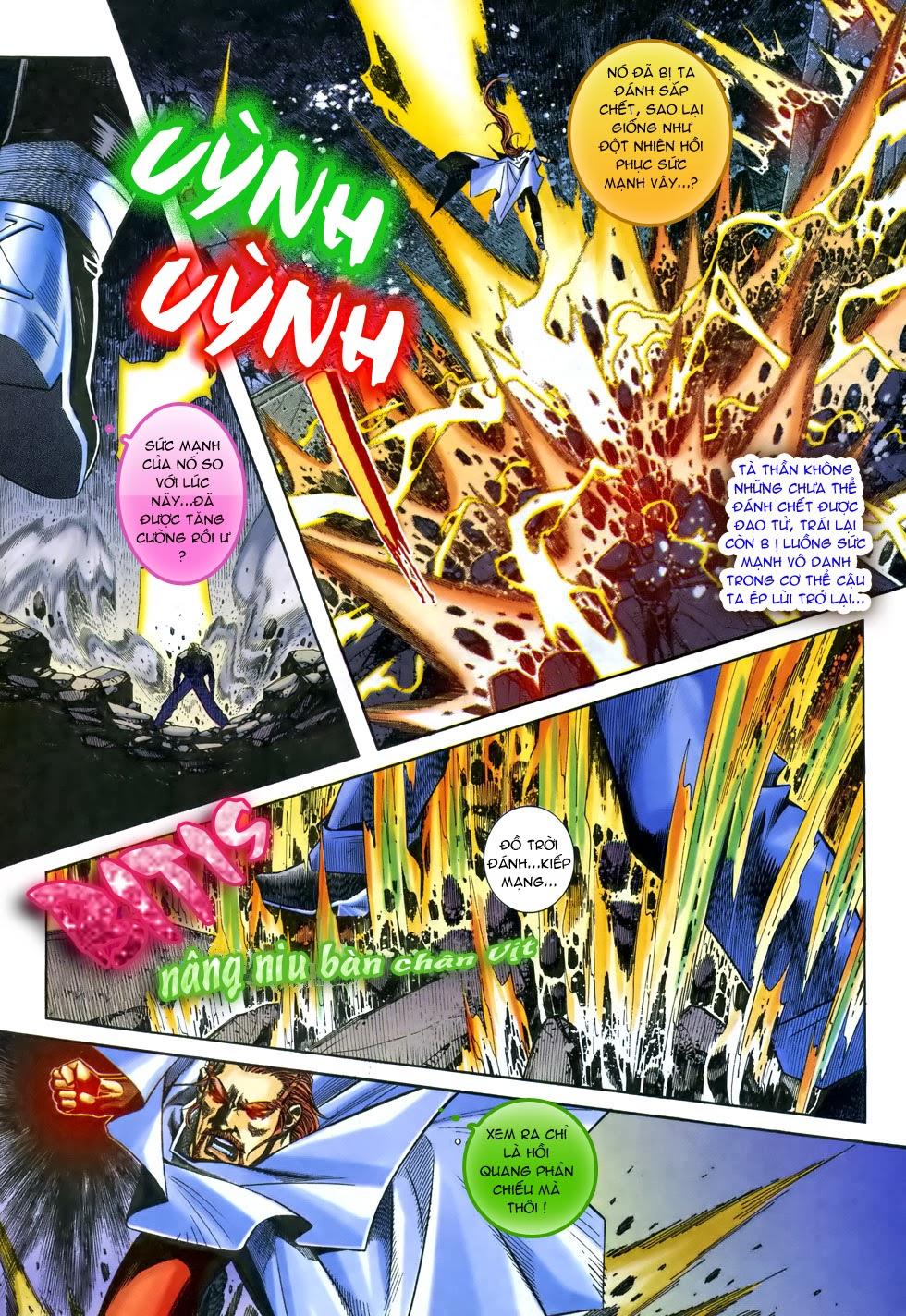 X Bạo Tộc chap 68 - Trang 19