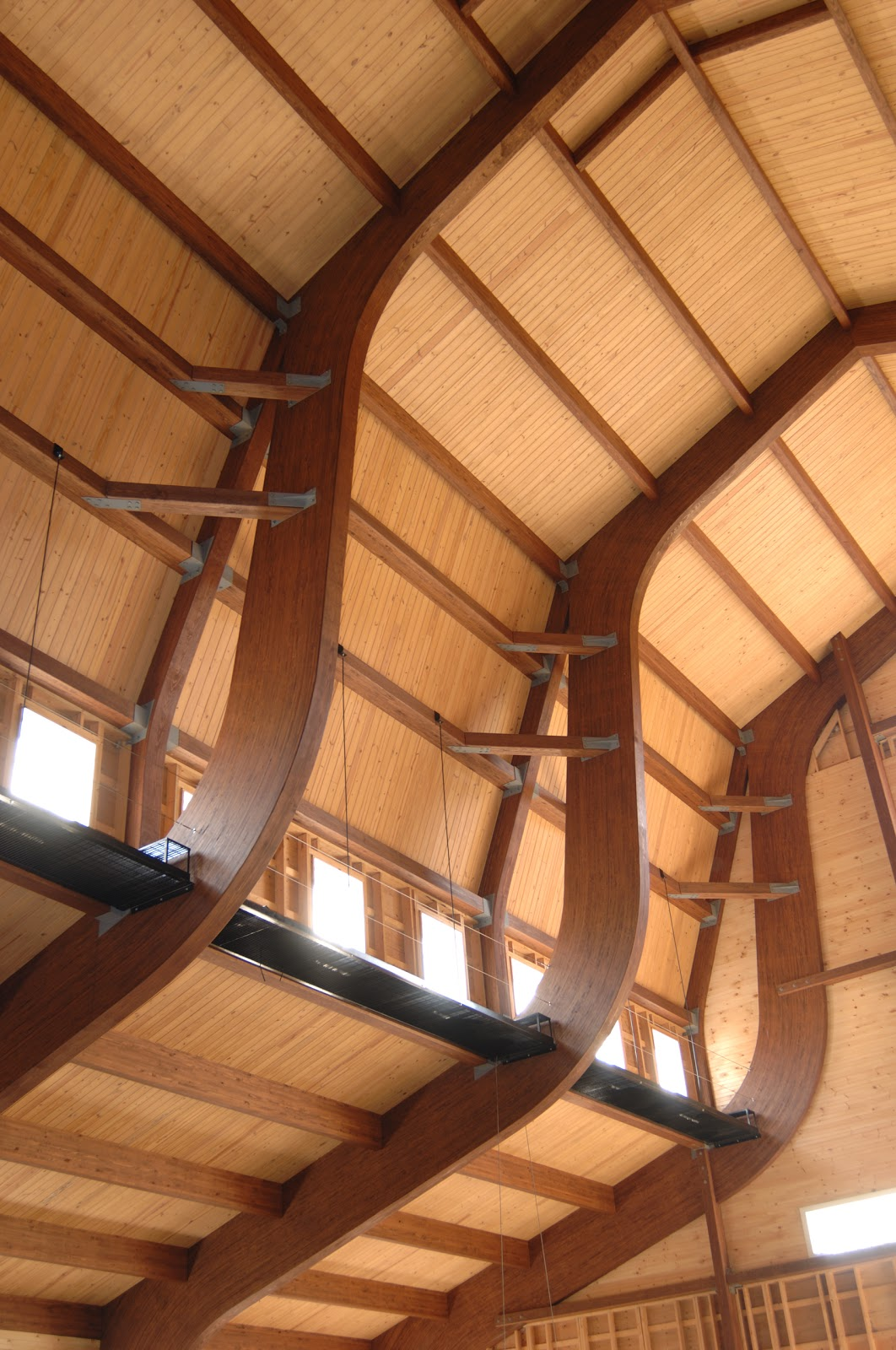 Choose glulam by una lam over other engineered wood