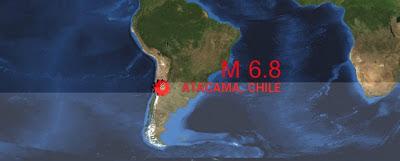 TERREMOTO DE 6,8 GRADOS SACUDE CHILE, 30 DE ENERO 2013