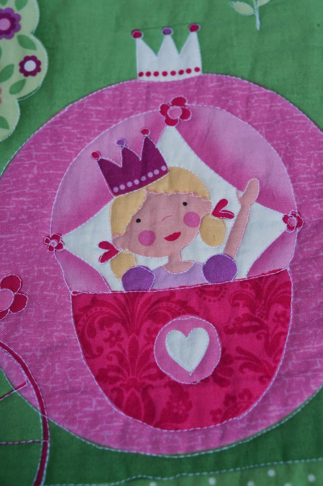 Лоскутное одеяло Princess