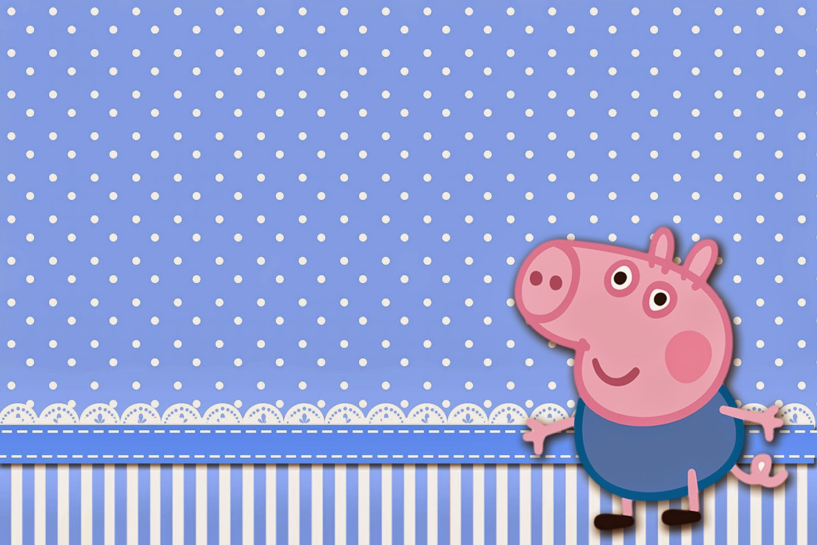 George Pig Free Printable Invitations. | Is it for PARTIES? Is it ...