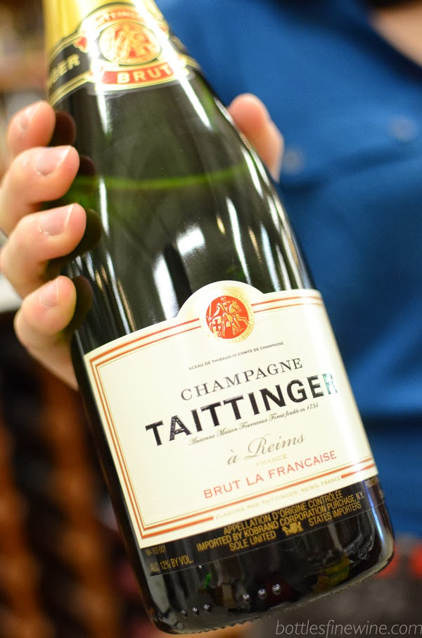 Tattinger Champagne - Food and Wine Pairing
