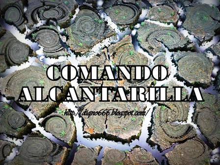 COMANDO ALCANTARILLA