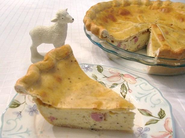 pizza chena italian easter pie